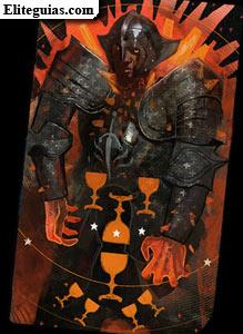 Caballero templario rojo