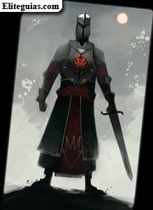 Infantería de los templarios rojos