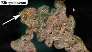 Mapa de cueva del campo