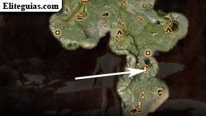 Mapa del Paso del Vigilante