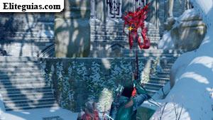 Titán de los templarios rojos