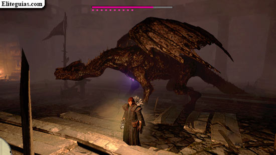 Dragón - Prueba del peregrino