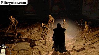 esqueletos en el Everfall