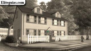 residencia de los Simpson