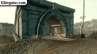 Entrada a los Túneles de Warrington