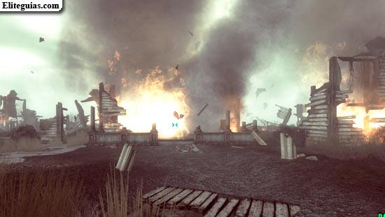 explosión de la mansión