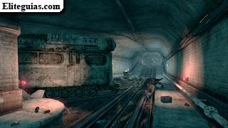 túnel de mantenimiento de Meresti