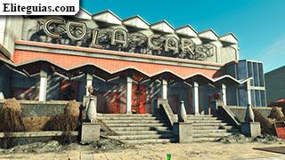 Arena de coches de Nuka-Cola