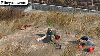 cadáver del soldado Hart