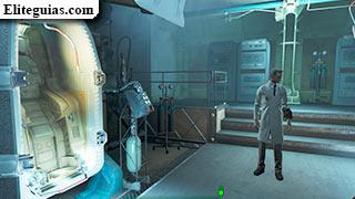 Cápsula de descontaminación