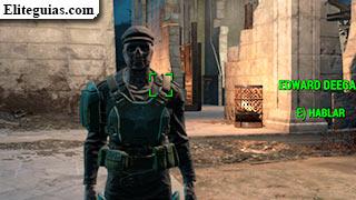Gu a fallout 4 entrega especial for Edward deegan