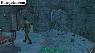 escombros en el castillo