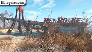 parada de camiones Red Rocket