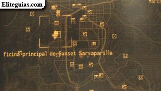 Oficina principal de Sunset Sarsaparilla
