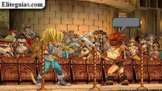 pelea en el castillo