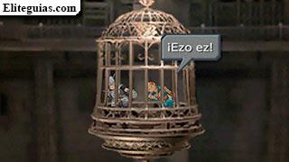 Steiner y Marcus en la jaula