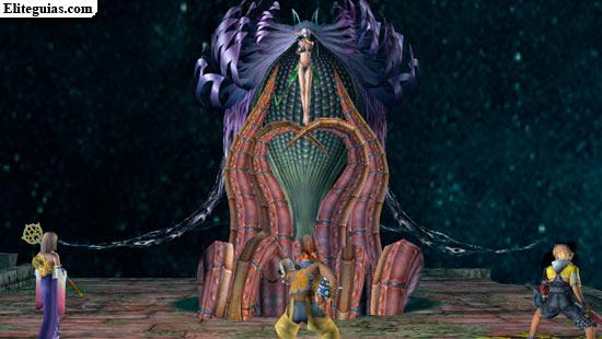 Final Fantasy X - El encuentro con Yunalesca
