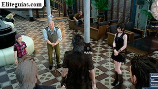 reunión en el hotel