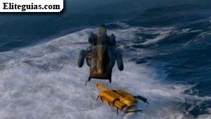 El golpe a Merryweather (alta mar)