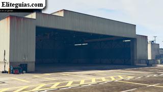 Hangar del Aeropuerto Internacional de Los Santos - Franklin