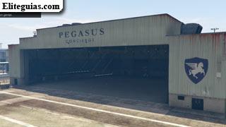 Hangar del Aeropuerto Internacional de Los Santos - Michael