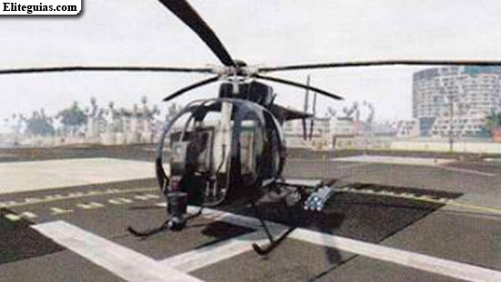 Helicóptero de ataque Buzzard