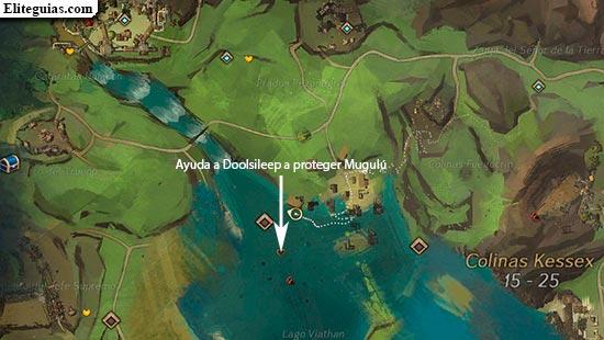 Ayuda a Doolsileep a proteger Mugulú