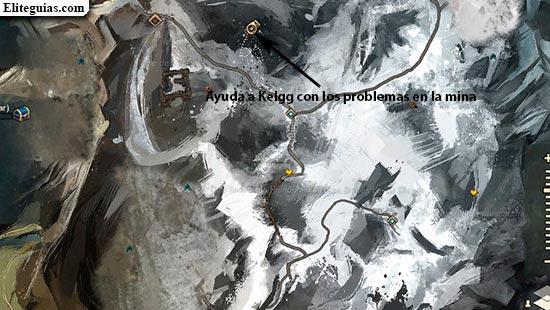 Ayuda a Kelgg con los problemas en la mina