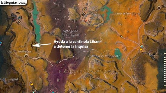 Ayuda a la centinela Liharn a detener la Inquisa