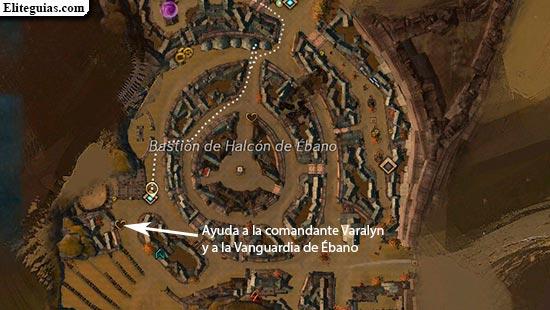 Ayuda a la comandante Varalyn y a la Vanguardia de Ébano