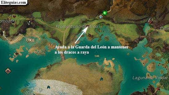 Ayuda a la Guarda del León a mantener a los dracos a raya