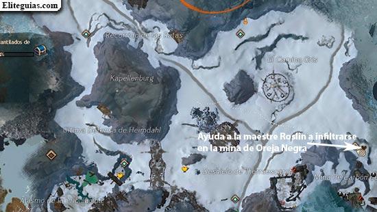 Ayuda a la maestre Roslin a infiltrarse en la mina de Oreja Negra