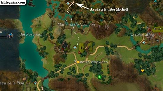Ayuda a la tribu Michotl