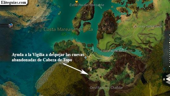 Ayuda a la Vigilia a despejar las cuevas abandonadas de Cabeza de Topo