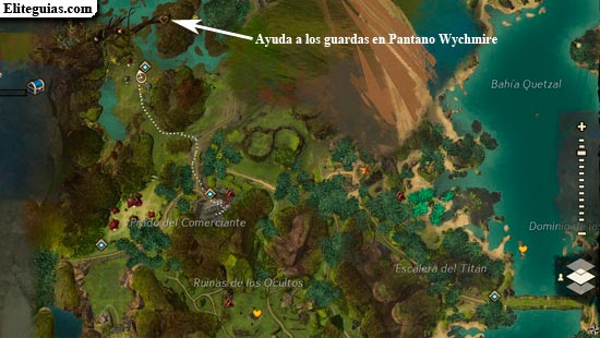 Ayuda a los guardas en Pantano Wychmire