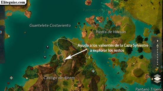 Ayuda a los valientes de la Caza Sylvestre a explorar los restos