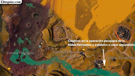 Colabora en la operación pesquera de la Aldea Ferrusatos y ayúdalos a cazar separatistas