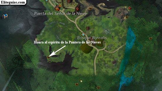 Honra al espíritu de la Pantera de las Nieves