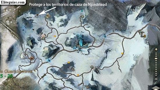 Protege a los territorios de caza de Njordstead