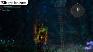 Escalerilla de la Cueva de Kandrian