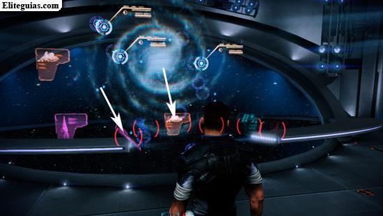 Mapa de la galaxia del laboratorio