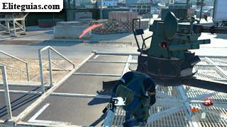 Destruye las plataformas antiaéreas