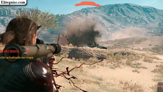 disparando a tanques