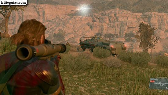 Elimina el vehículo blindado 01