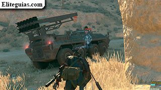 Elimina el vehículo blindado 08