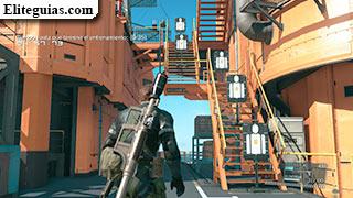 Práctica de tiro al blanco (Plataforma de la unidad de combate)