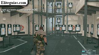 Práctica de tiro al blanco (Plataforma médica)