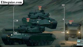 tanques enemigos