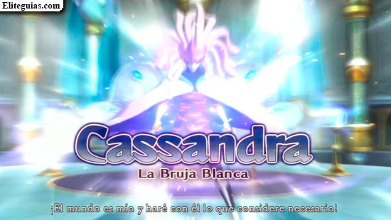 Cassandra, La Bruja Blanca