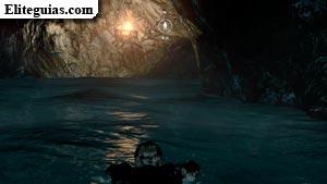 Canal de agua subterráneo